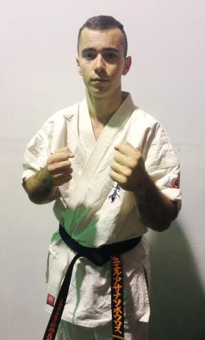 Daniel Athanassopoulos, 1st Dan